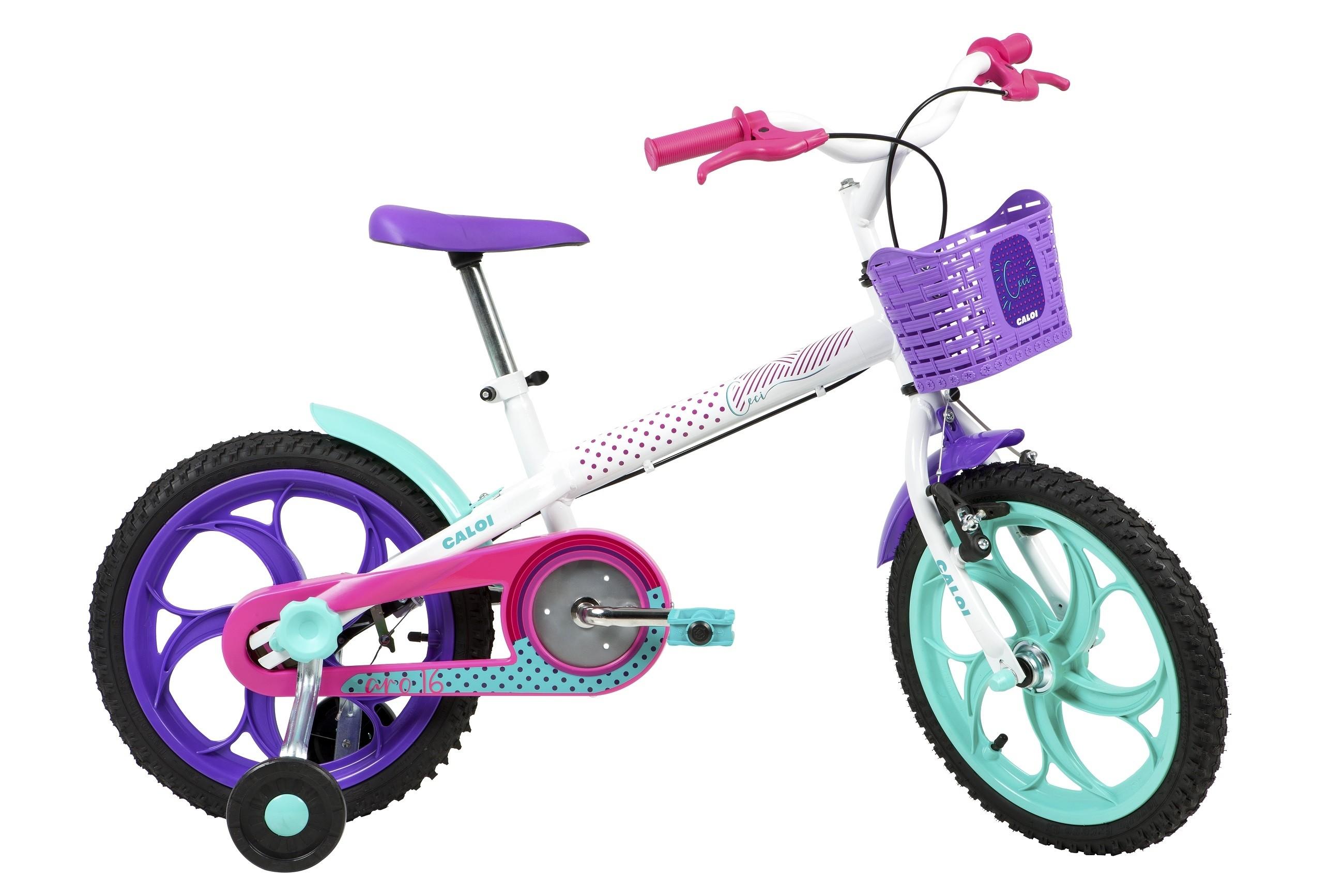 Bicicleta Caloi Ceci Aro 16